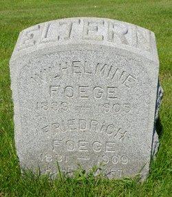 Friedrich Foege