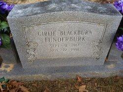 Girlie Lee <I>Luttrell</I> Funderburk