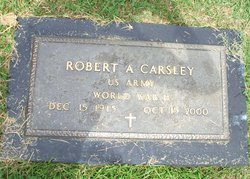 Dr Robert A. Carsley