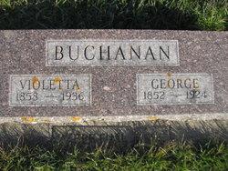 Violetta <I>Woodward</I> Buchanan
