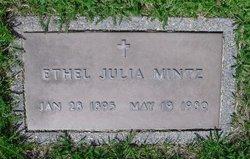 Ethel Julia <I>Walker</I> Mintz