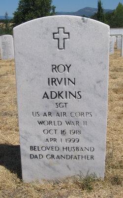 "Roy Irvin ""Irv"" Adkins"