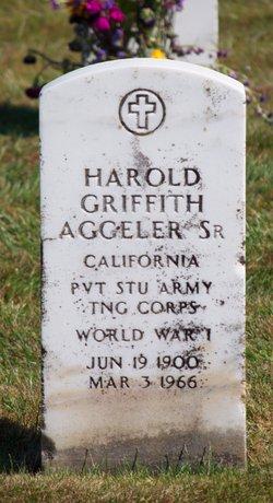 Harold Griffith Aggeler, Sr