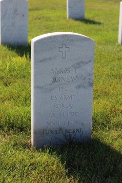 Amos T Agnew