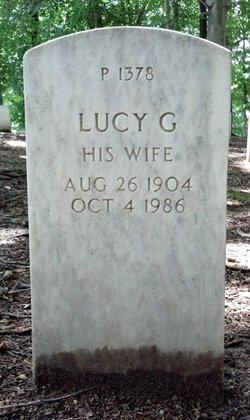 Lucy G Bindeman