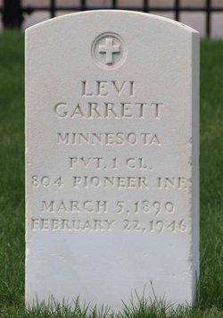 PFC Levi Garrett