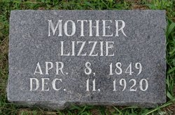 "Elizabeth A. ""Lizzie or Eliza"" <I>Pierce</I> Bowers"