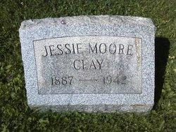 Jessie Viola <I>Moore</I> Clay