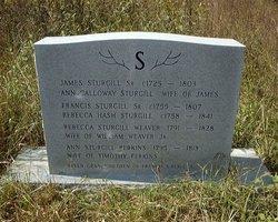Ann <I>Calloway</I> Sturgill