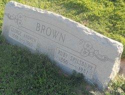 Ruby Vilate <I>Spilsbury</I> Brown