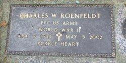 """PFC Charles W. """"Red"""" Roenfeldt"""