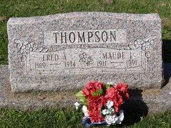 Maude I <I>Dickson</I> Thompson