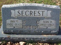 Ivan B Secrest