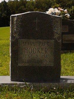 Mary <I>Pack</I> Hooker