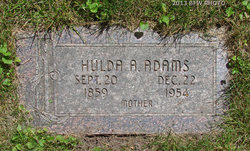 Hulda Agnes <I>Brooks</I> Adams