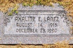 Axaline E Lantz