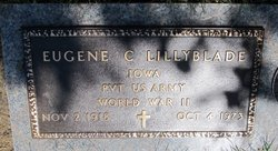 Pvt Eugene Clarence Lillyblade