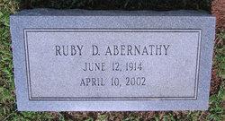 Ruby Odell <I>Delbridge</I> Abernathy