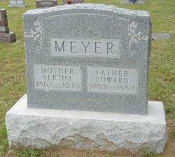 Bertha Augusta <I>Schultz</I> Meyer
