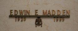 Edwin E Madden
