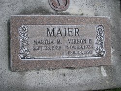 "Vernon Howard ""Vern"" Maier"