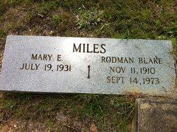 Rodman Blake Miles