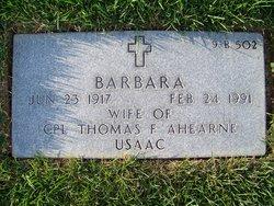 Barbara Ahearne