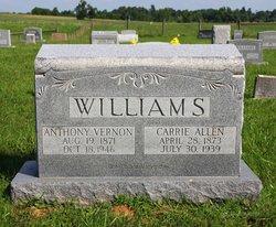 Carrie Allen Williams