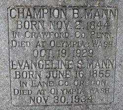 Champion Bramwell Mann