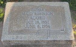 Mary Maude <I>Robinson</I> Acord