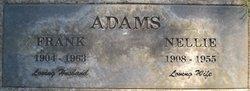 Nellie <I>Smith</I> Adams