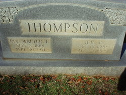 Rev Walter L. Thompson
