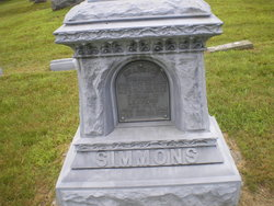 Sarah J <I>Leavens</I> Simmons