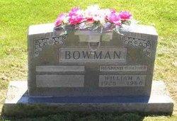 William Andrew Bowman