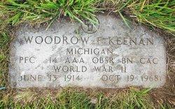 Woodrow A Keenan
