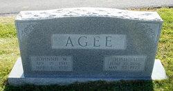 Josie M <I>Gilmore</I> Agee