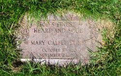 Mary Calfee Cubby