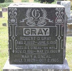 Celia E. <I>O'Neal</I> Gray