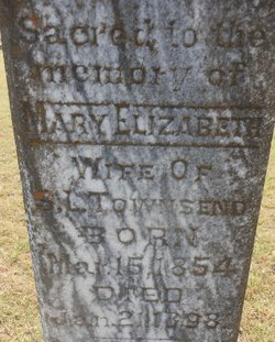 "Mary Elizabeth ""Bettie"" <I>Little</I> Townsend"