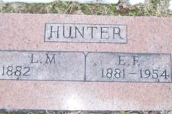 "Lillian May ""Lillie"" <I>Wells</I> Hunter"