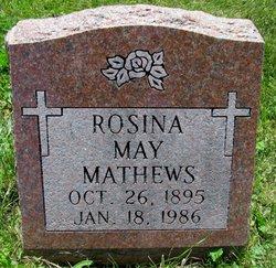 Rosina May <I>Griggs</I> Mathews