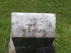 "Leona Frances ""Fannie"" <I>Bracey</I> Head"