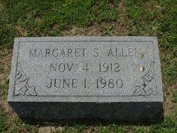 Margaret S Allen