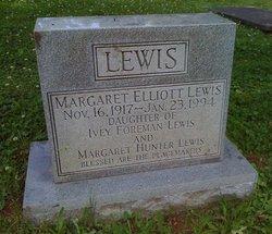 Margaret Elliott Lewis
