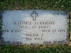 Ralph E Albright
