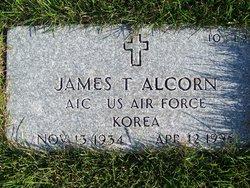 James T Alcorn
