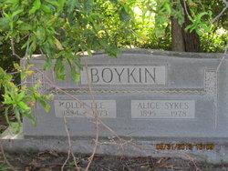 Alice <I>Sykes</I> Boykin