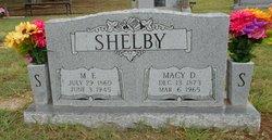 Macy Demaris <I>Driggers</I> Shelby