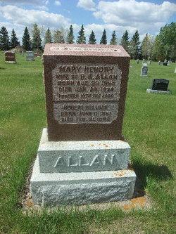 Mary Jane <I>Hendry</I> Allan