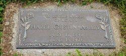 Hazel <I>Gustin</I> Ashby